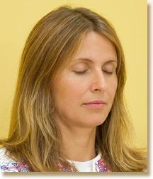 Blonde Meditator