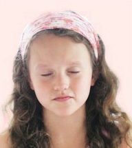 Meditator with Headband